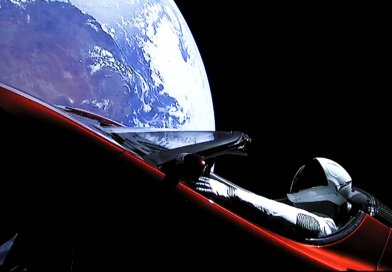 Tesla Car in Space Live Video | SpaceX Star Man