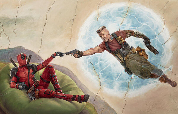 deadpool 2 art